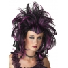 Wig Evil Sorceress Black Purple
